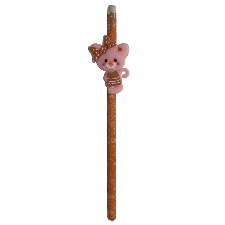 قیمت خرید مداد اسکول فنس طرح خرس مدل naabsell 130013 به همراه سر مدادی اورجینال