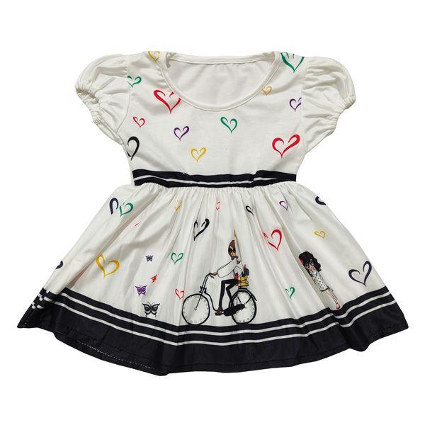 پیراهن دخترانه مدل قلب کد 02