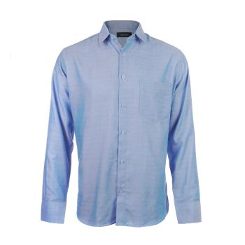 پیراهن آستین بلند مردانه ناوالس مدل Pk3-8020-BL