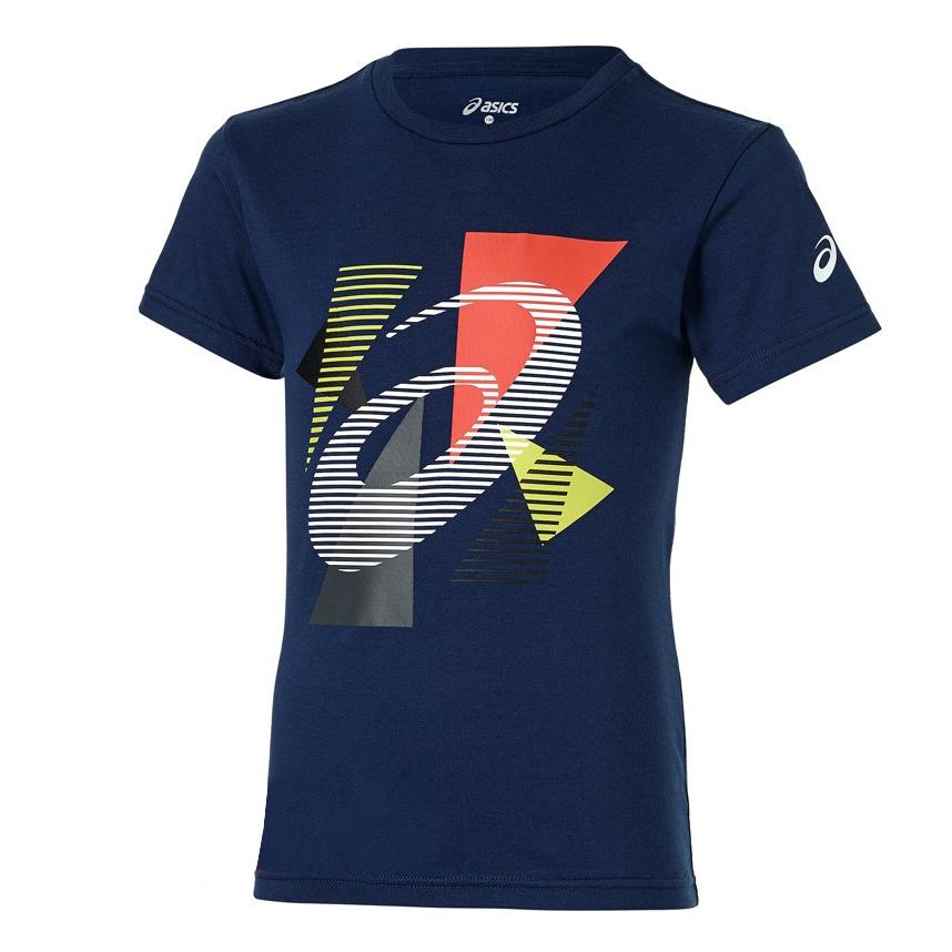 تی شرت ورزشی پسرانه اسیکس مدل 130906JR8052