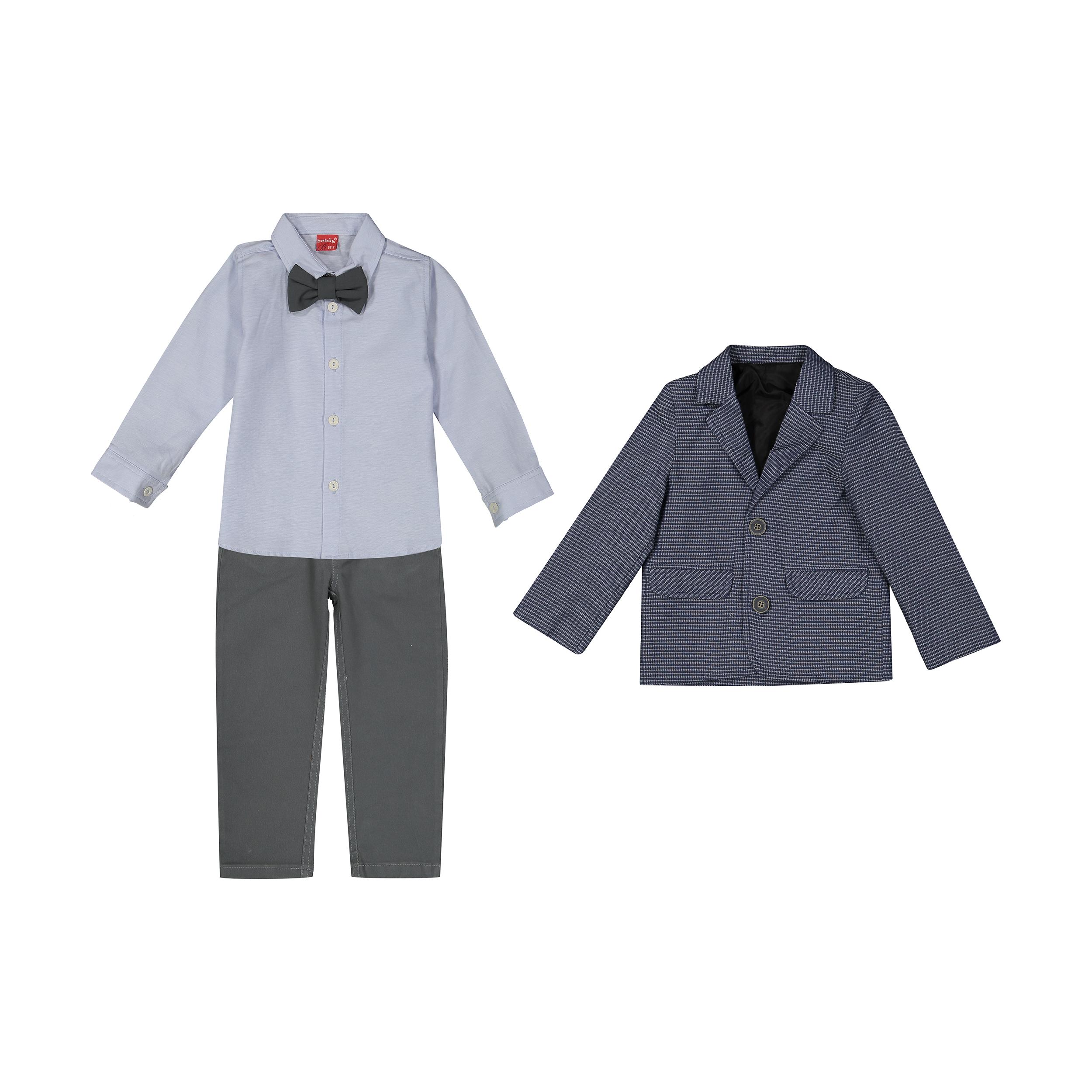ست 3 تکه لباس پسرانه ببوش مدل 2141285-58