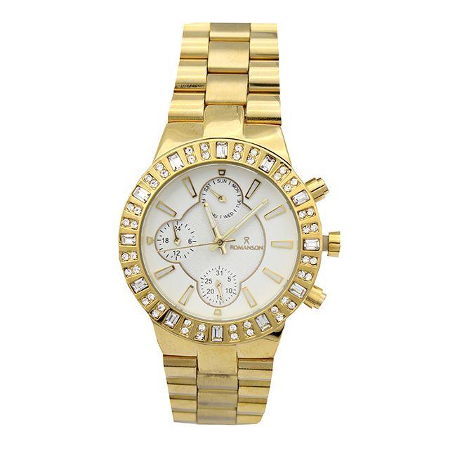ساعت مچی عقربه ای زنانه رومانسون مدل 898455