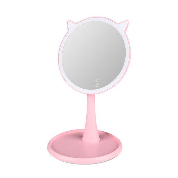 رینگ لایت آرایشی و آینه مدل AM-Rabbit