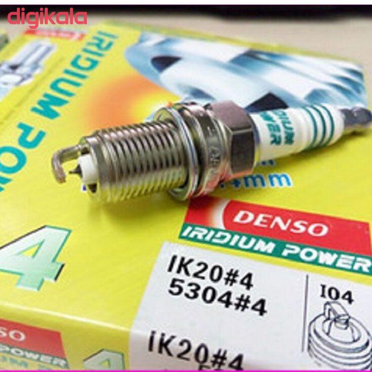شمع خودرو دنسو مدل 5304-IK20 بسته 4 عددی main 1 1