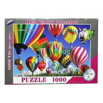 پازل 1000 تکه رینگ طرح فستیوال بالن ها مدل 2020 کد PB002