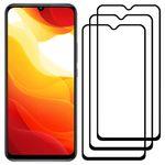 محافظ صفحه نمایش مدل FCG مناسب برای گوشی موبایل شیائومی Mi 10 Lite 5G بسته سه عددی