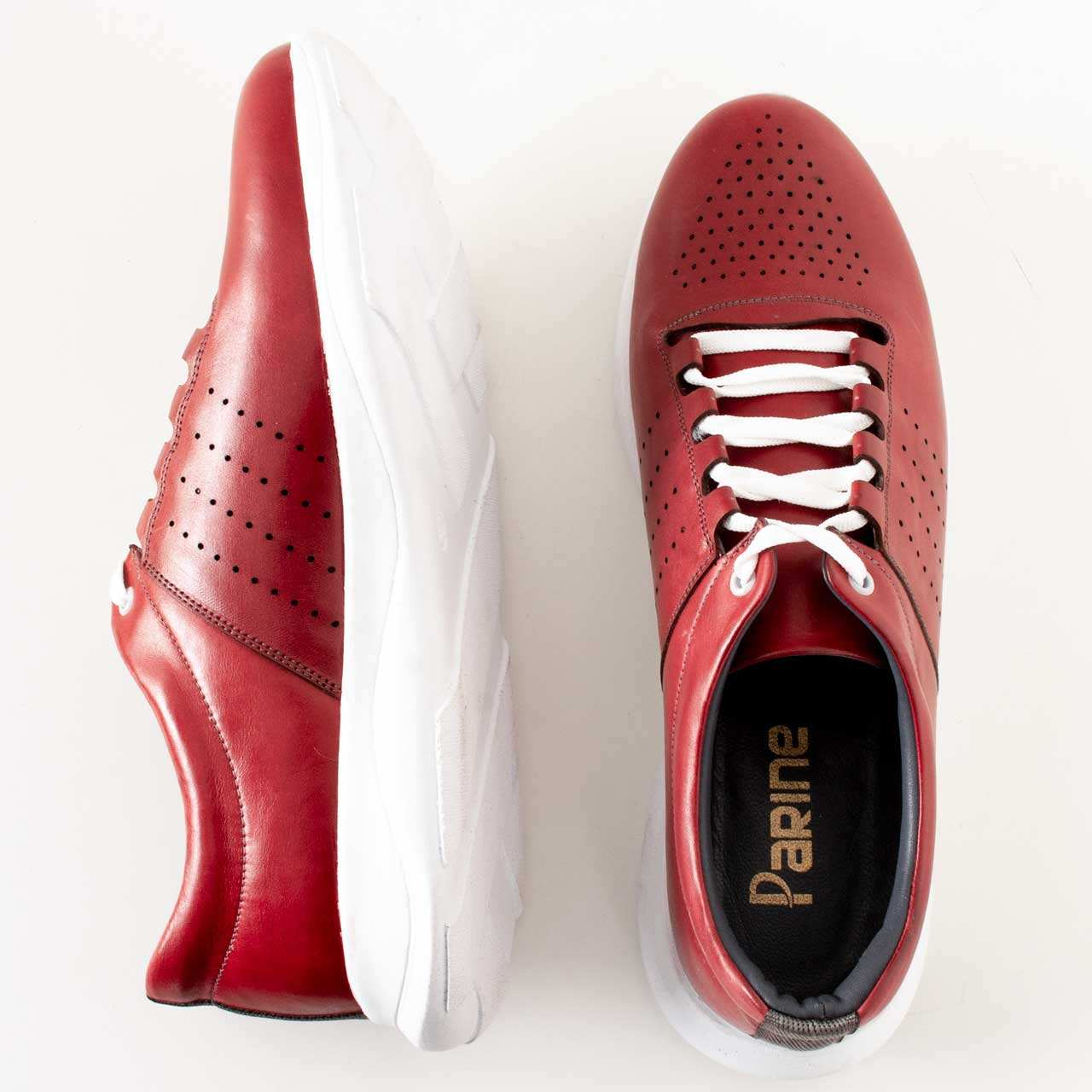 کفش روزمره مردانه پارینه چرم مدل SHO176-2 -  - 10