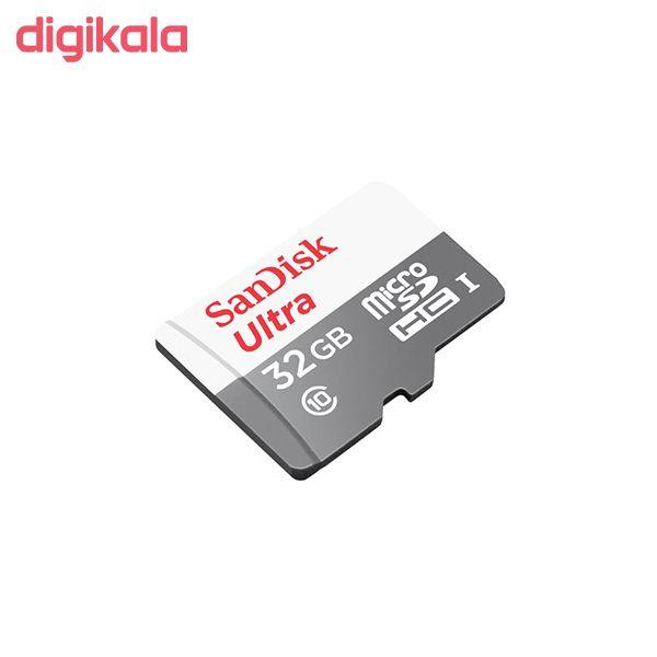 کارت حافظه microSDHC سن دیسک مدل Ultra کلاس 10 استاندارد UHS-I سرعت 100MBps ظرفیت 32 گیگابایت main 1 1