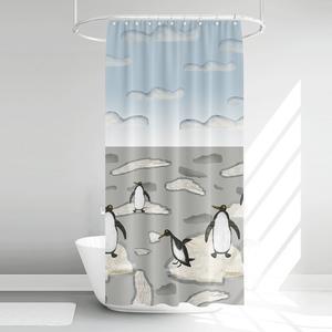پرده حمام آرمیتا کد W020 سایز 180 × 200 سانتی متر