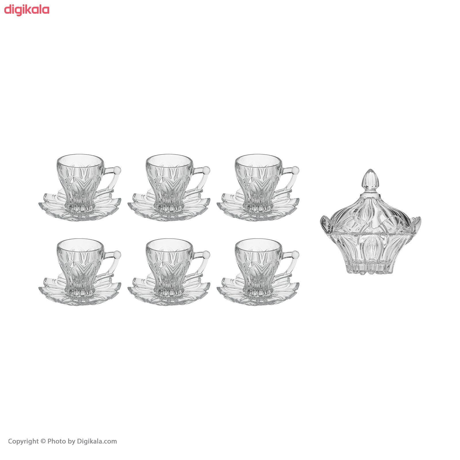 سرویس چای خوری 14 پارچه ساکورا مدل ویلا کد 572102W main 1 14