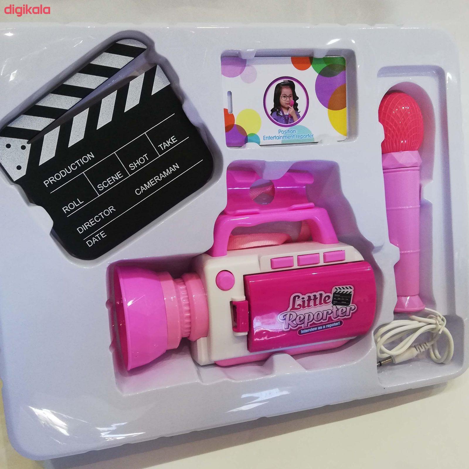 اسباب بازیطرح دوربین فیلم برداری و میکروفن کد NO.A29 main 1 4
