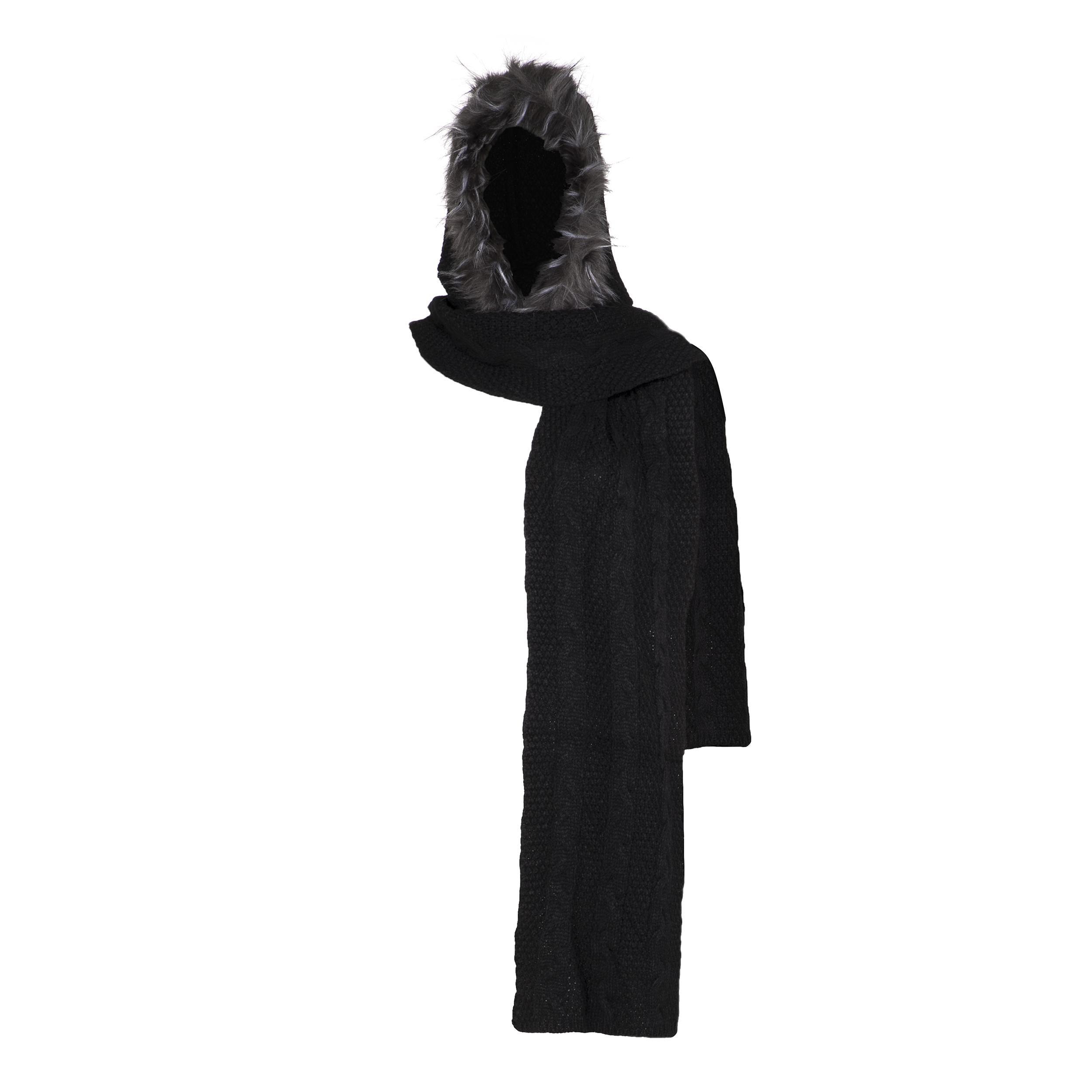 شال گردن بافتنی زنانه رویا مدل 27443-51