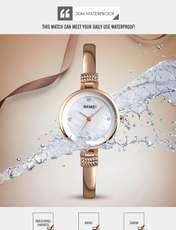 ساعت مچی عقربه ای زنانه اسکمی مدل 1409RG-NP -  - 4