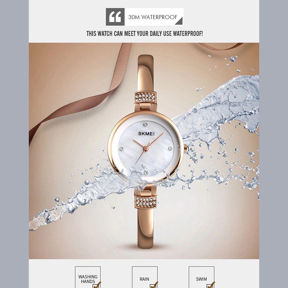 ساعت مچی عقربه ای زنانه اسکمی مدل 1409RG-NP -  - 5