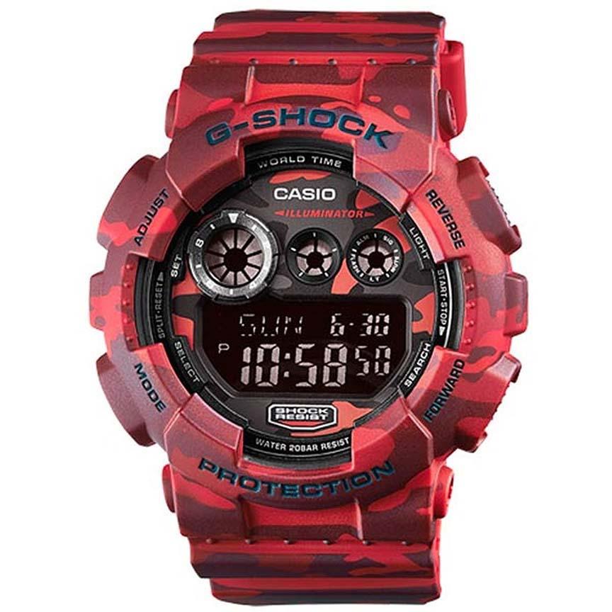 ساعت مچی دیجیتال مردانه کاسیو مدل جی شاک کد GD-120CM-4              👙