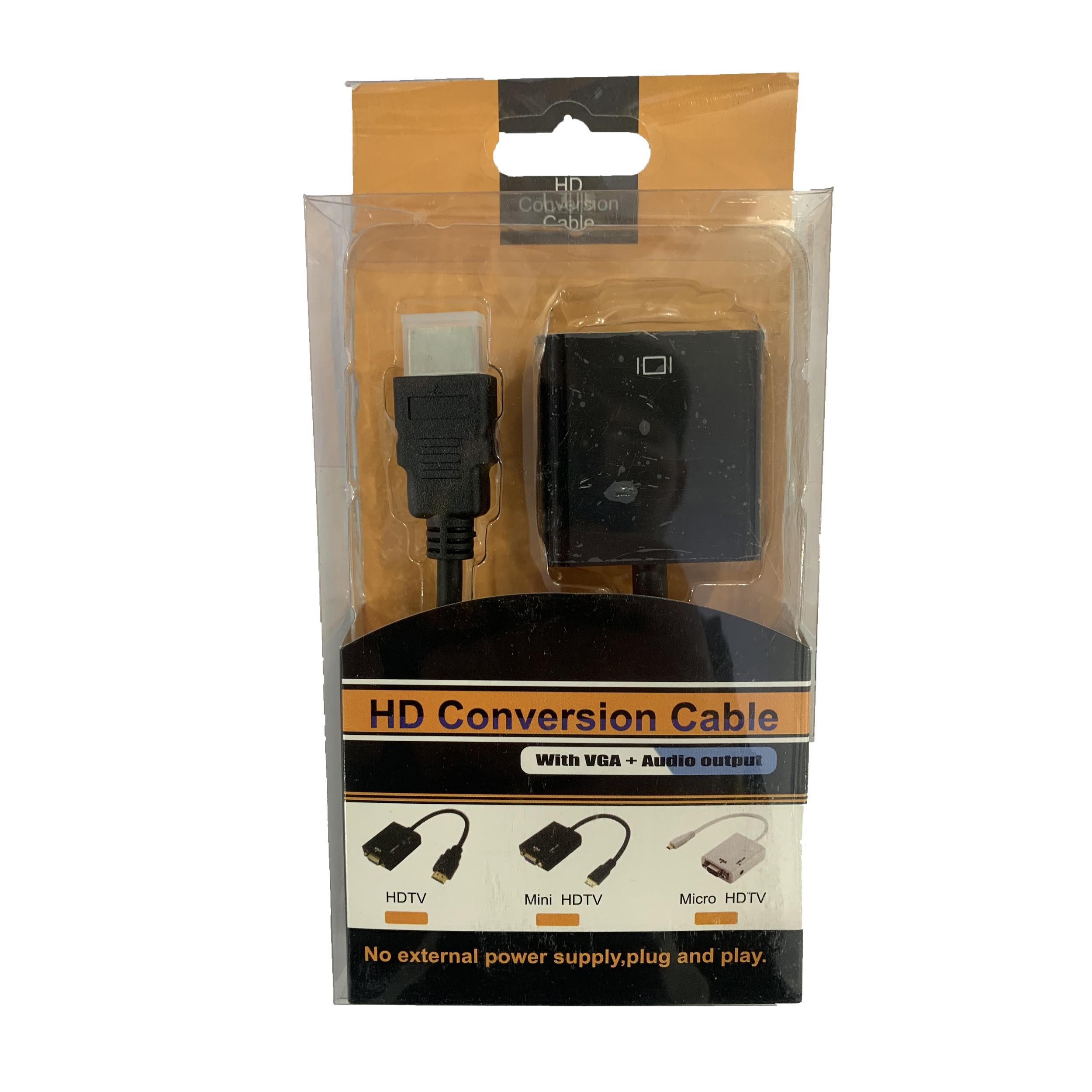مبدل HDMI به VGA مدل PS4
