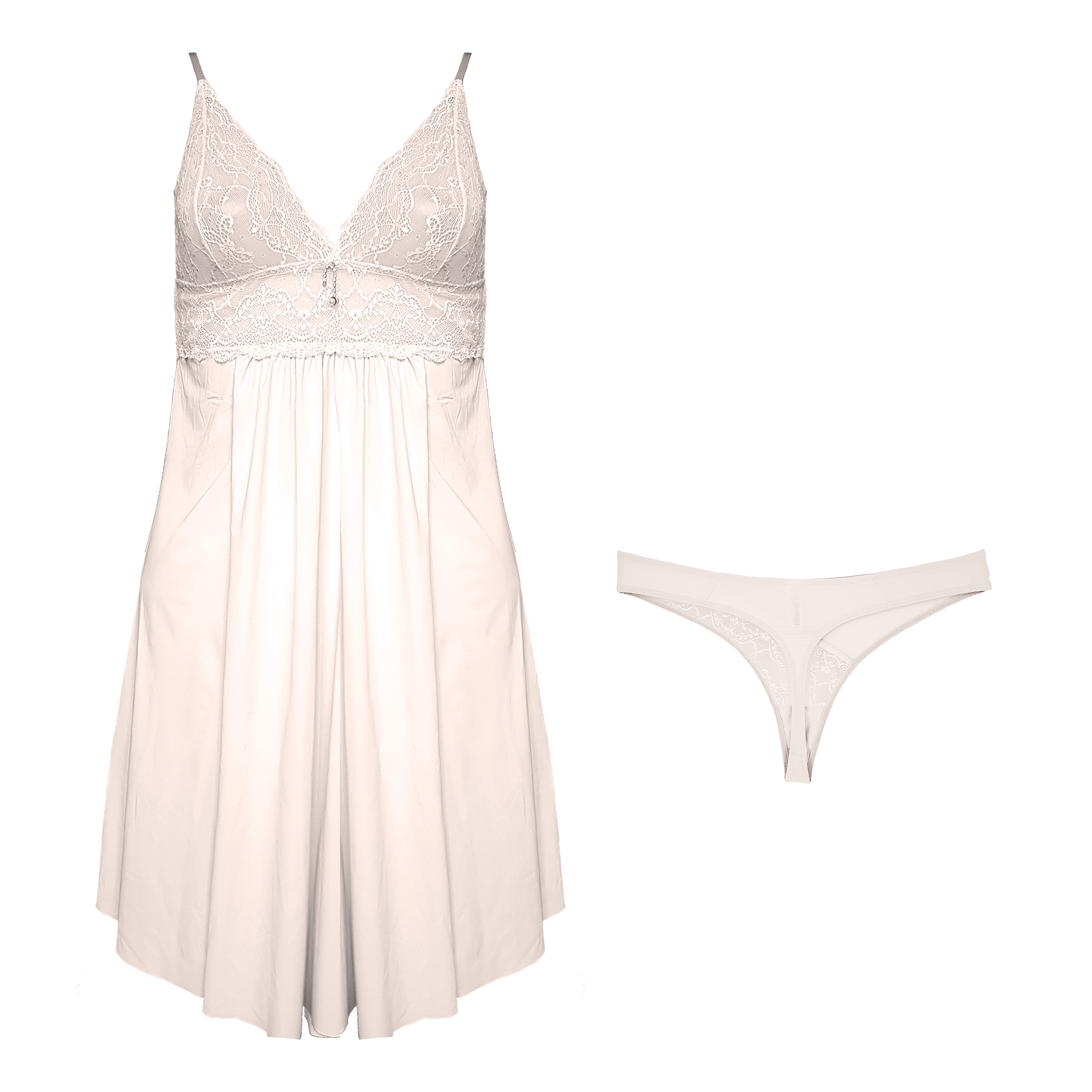 لباس خواب زنانه ینینچی مدل 10050 رنگ صورتی