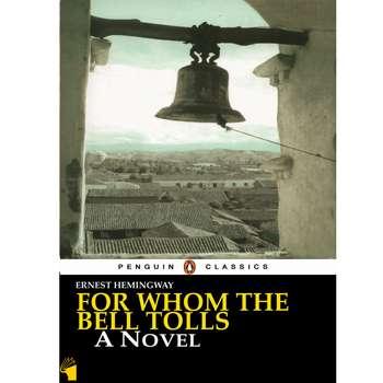 کتاب For Whom the Bell Tolls اثر Ernest Hemingway انتشارات معیار علم
