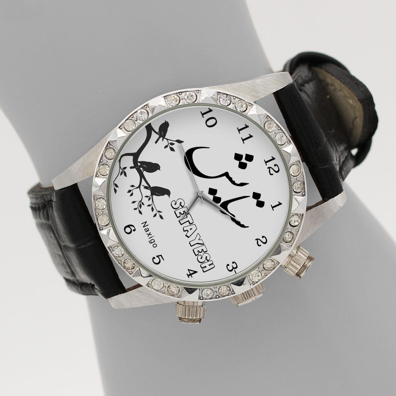 خرید و قیمت                      ساعت مچی  زنانه ناکسیگو طرح ستایش کد LS3776