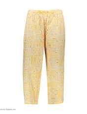 ست تاپ و شلوارک زنانه کد 0217 رنگ زرد -  - 3