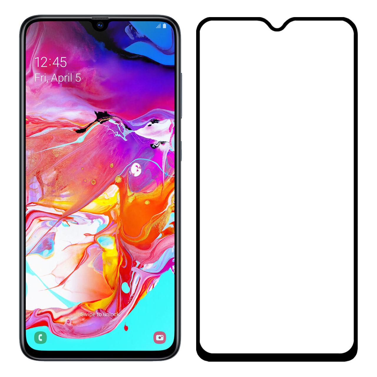 محافظ صفحه نمایش مدل FCG مناسب برای گوشی موبایل سامسونگ Galaxy A70