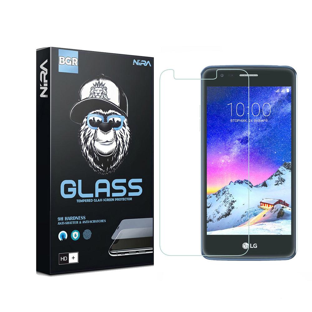 محافظ صفحه نمایش نیرا مدل BGR مناسب برای گوشی موبایل ال جی K8 2017