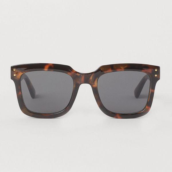 عینک آفتابی زنانه اچ اند ام مدل Tortoiseshell-patterned 0969828003
