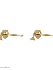 گوشواره طلا 18 عیار زنانه نیوانی مدل EA033 -  - 3
