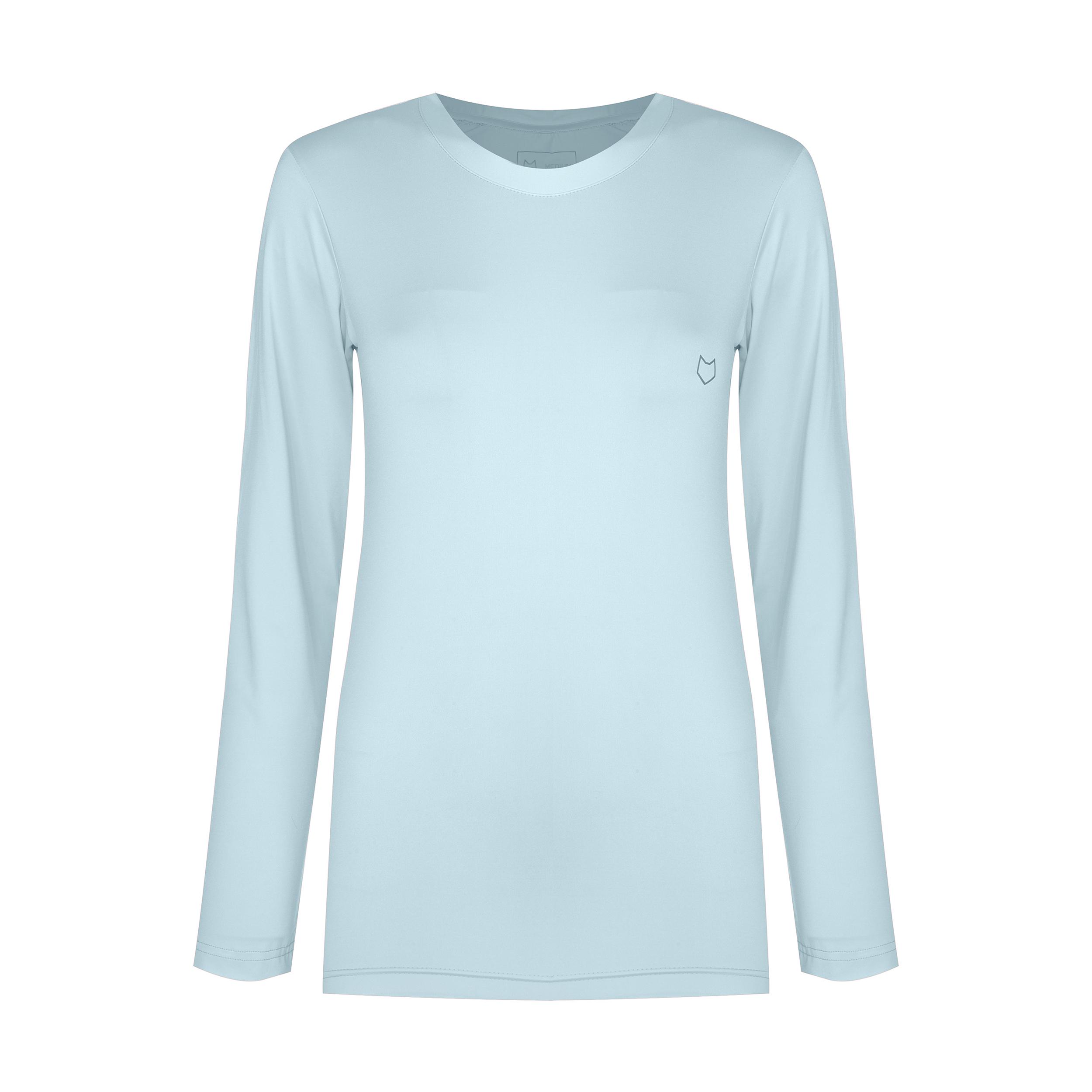تی شرت آستین بلند ورزشی زنانه مل اند موژ مدل  W06677-407