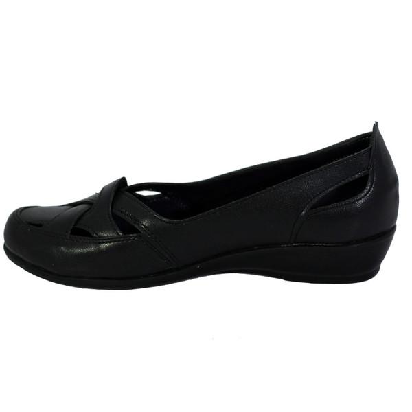 کفش طبی زنانه شهرام طب مدل 2082 رنگ مشکی