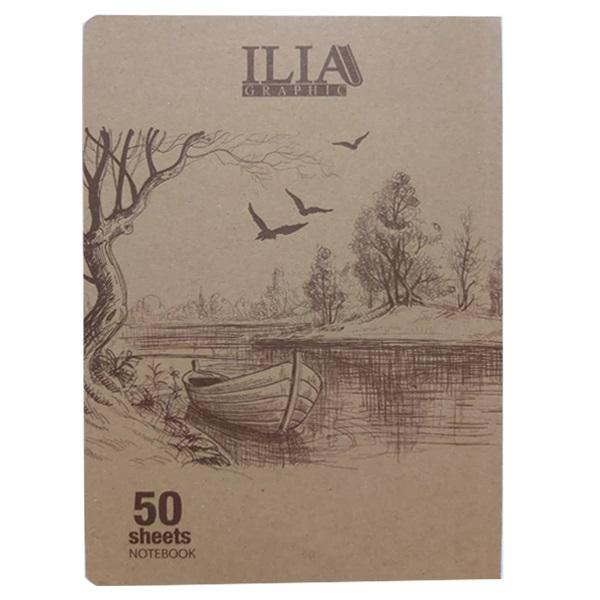 دفتر نقاشی 50 برگ ایلیا گرافیک کد 505n