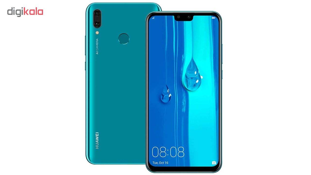 گوشی موبایل هوآوی مدل Y9 2019 JKM-LX1 دو سیم کارت ظرفیت 64 گیگابایت و رم 4 گیگابایت بههمراه شارژر همراه تسکو مدل TP 842N ظرفیت 10000 میلیآمپرساعت main 1 5