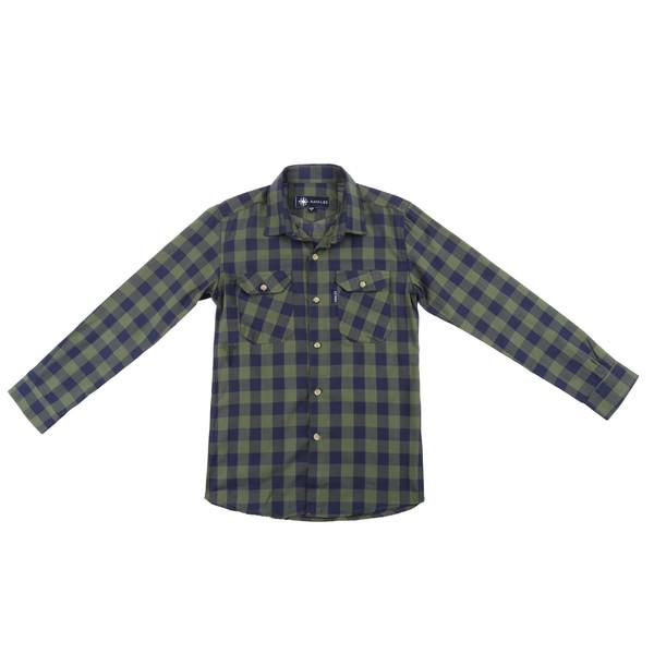 پیراهن پسرانه ناوالس کد D-20119-GN