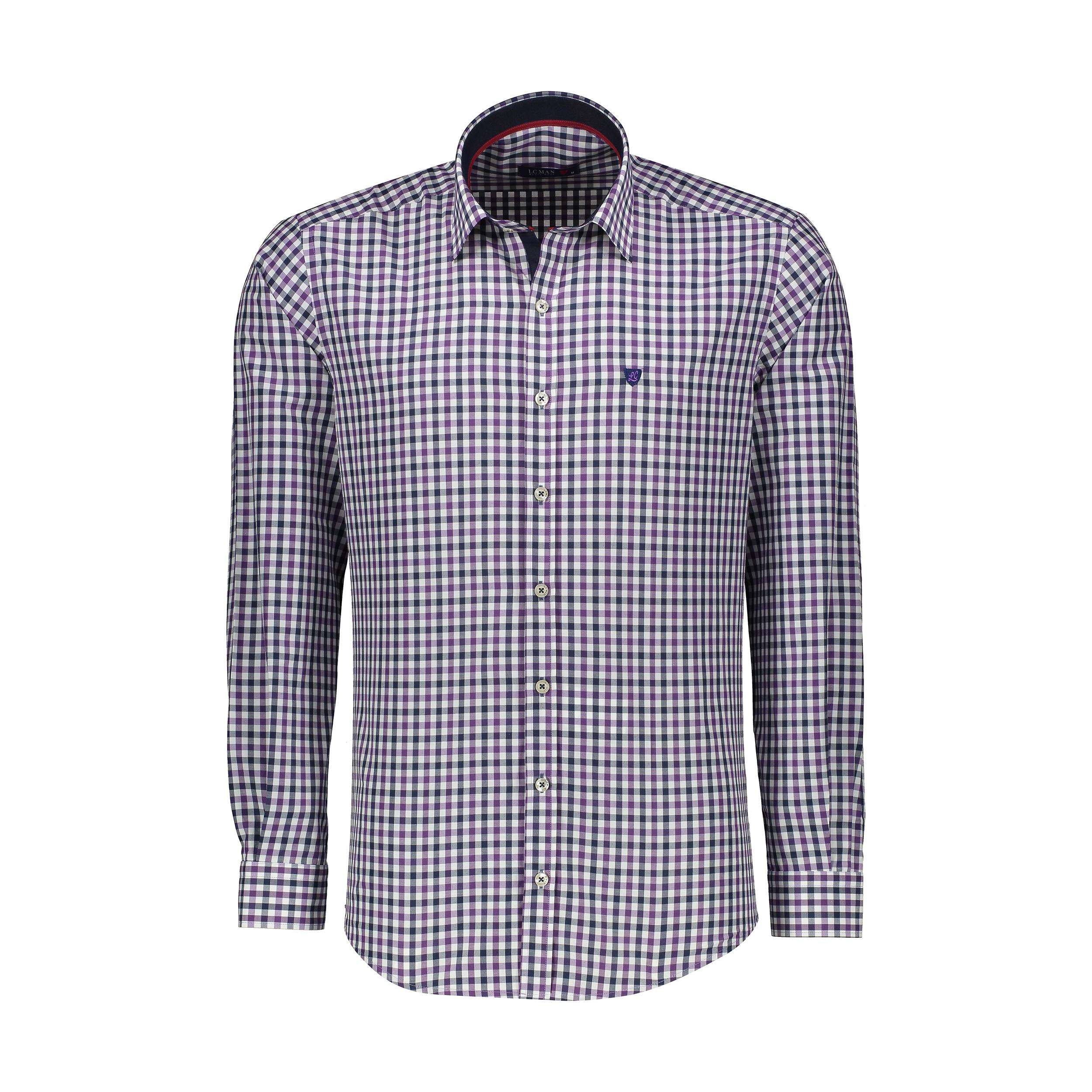 پیراهن مردانه ال سی من مدل 02181892-138