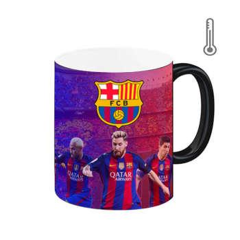 ماگ حرارتی طرح بارسلونا کد 159