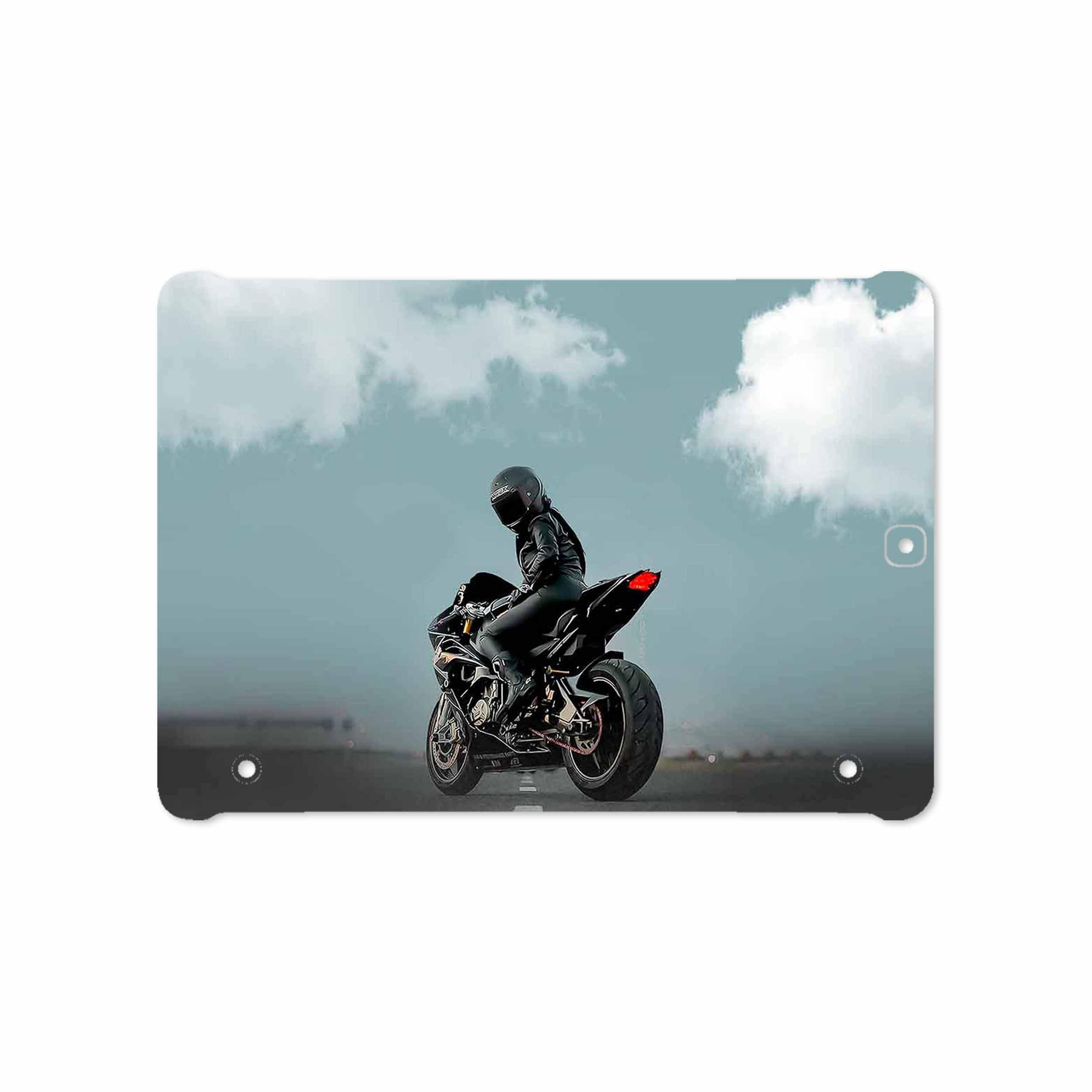 بررسی و خرید [با تخفیف]                                     برچسب پوششی ماهوت مدل Motorcycling مناسب برای تبلت سامسونگ Galaxy Tab S2 9.7 2015 T810                             اورجینال
