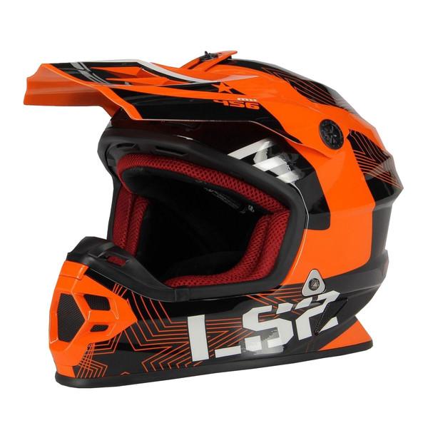 کلاه کاسکت ال اس تو مدل MX105-ORN