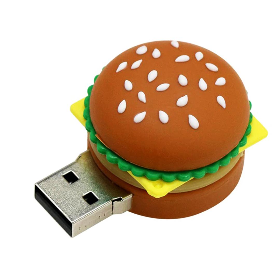 بررسی و {خرید با تخفیف} فلش مموری طرح همبرگر مدل Ul-Burger ظرفیت 8 گیگابایت اصل