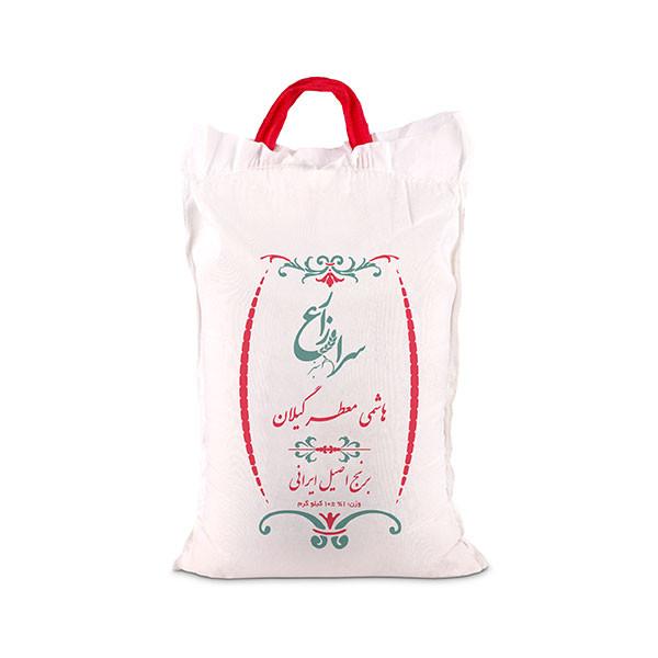 برنج هاشمی معطر گیلان سرازارع - 10 کیلوگرم