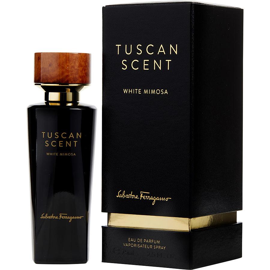 تستر ادو پرفیوم سالواتوره فراگامو مدل Tuscan Scent White Mimosa حجم 75 میلی لیتر