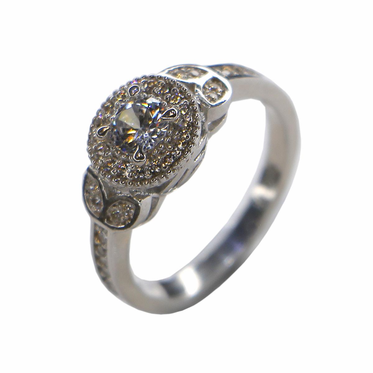 خرید                                      انگشتر نقره زنانه مدل مرینوس کد RS021