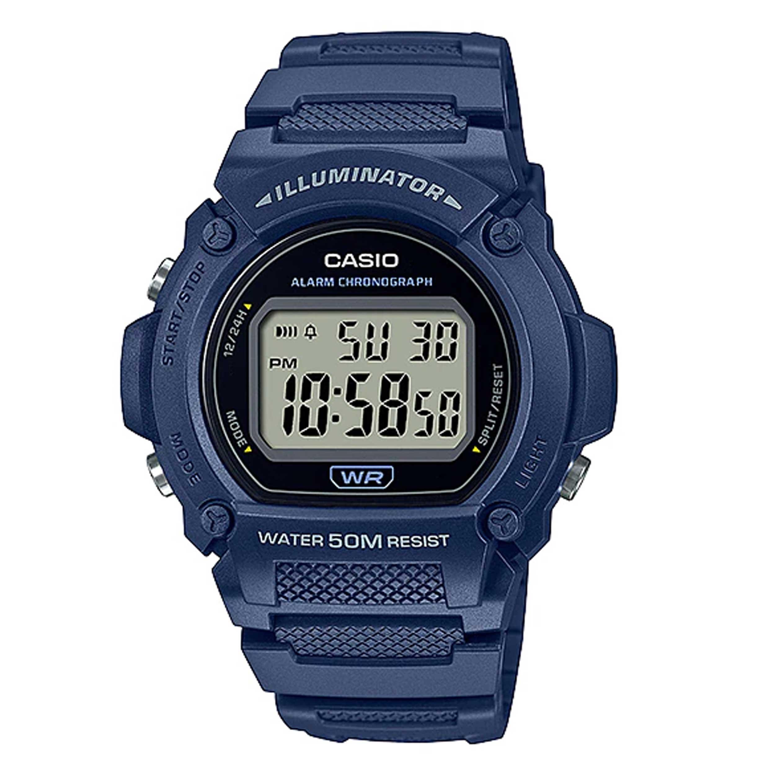 ساعت مچی دیجیتال مردانه کاسیو مدل W-219H-2AVDF