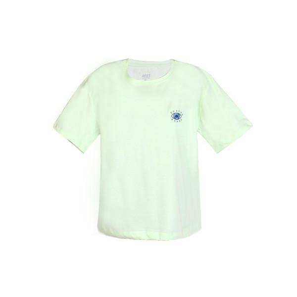 تی شرت آستین کوتاه زنانه ریس مدل چشم 106001402