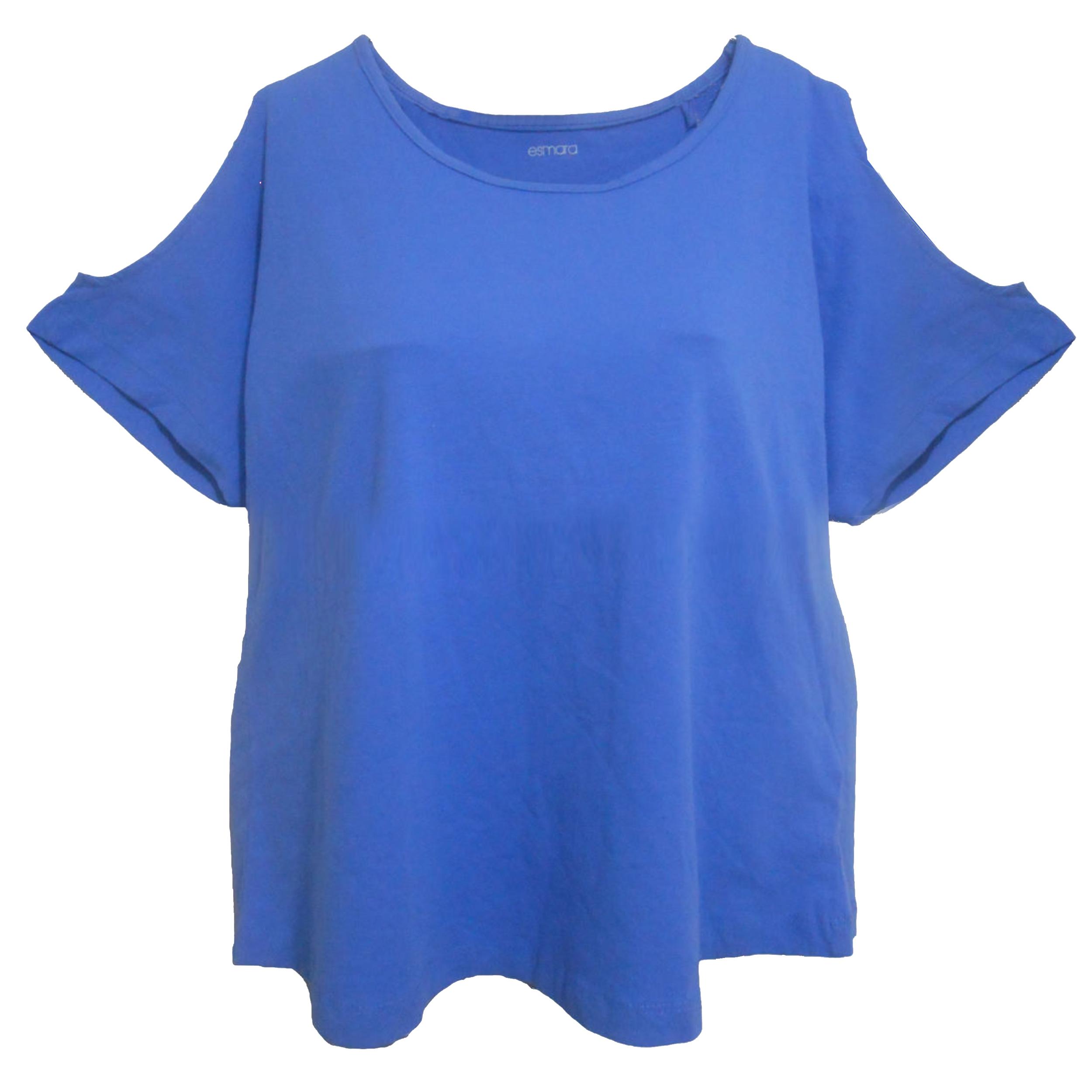 تی شرت آستین کوتاه زنانه اسمارا مدل MB125