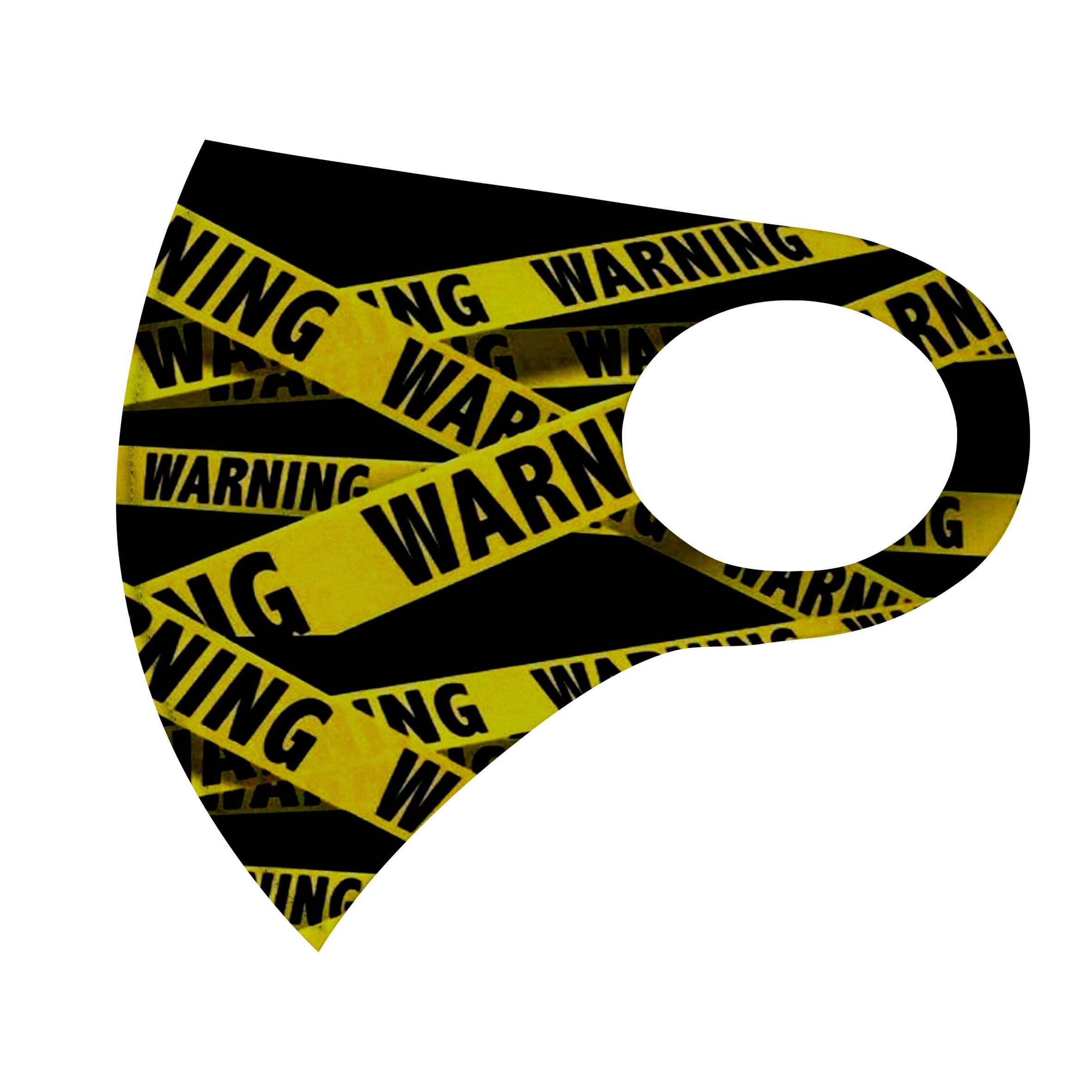ماسک تزیینی طرح خطر کد ma16