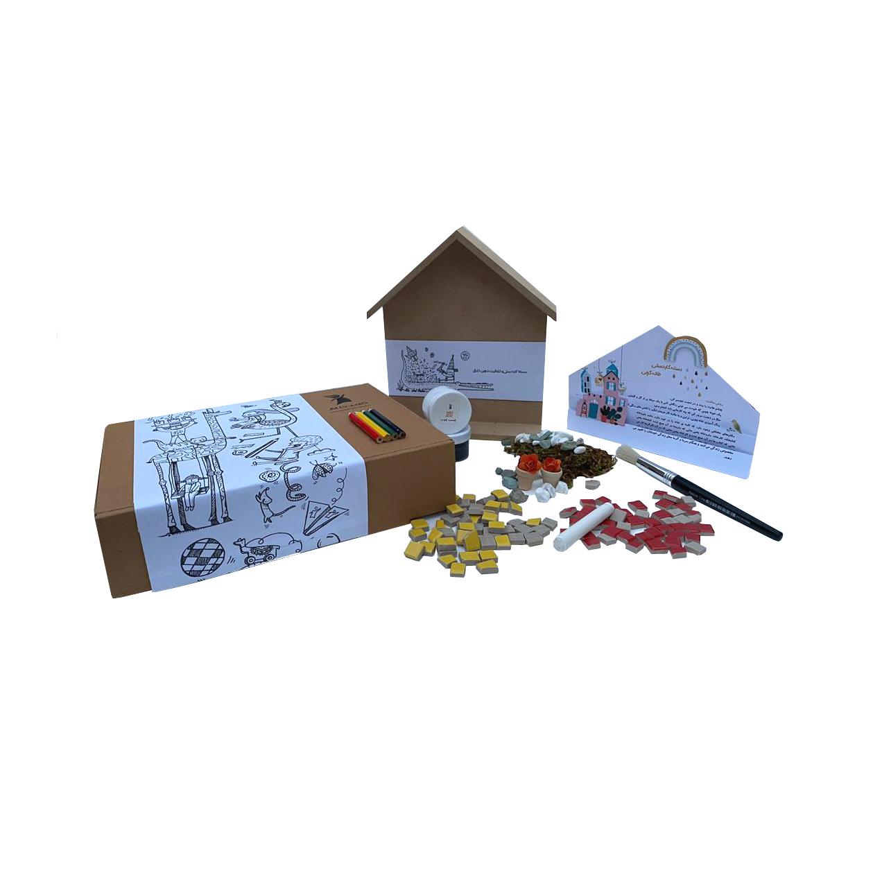 بازی آموزشی ذهن خلاق مدل خانه