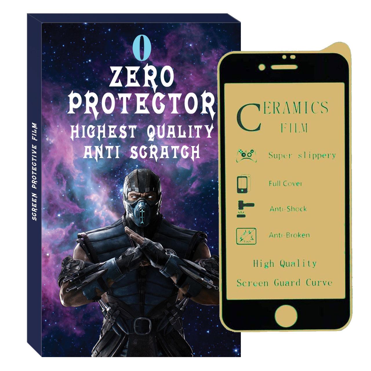 محافظ صفحه نمایش مات زیرو مدل Zmcrm-01 مناسب برای گوشی موبایل اپل Iphone 6 Plus / 6s Plus