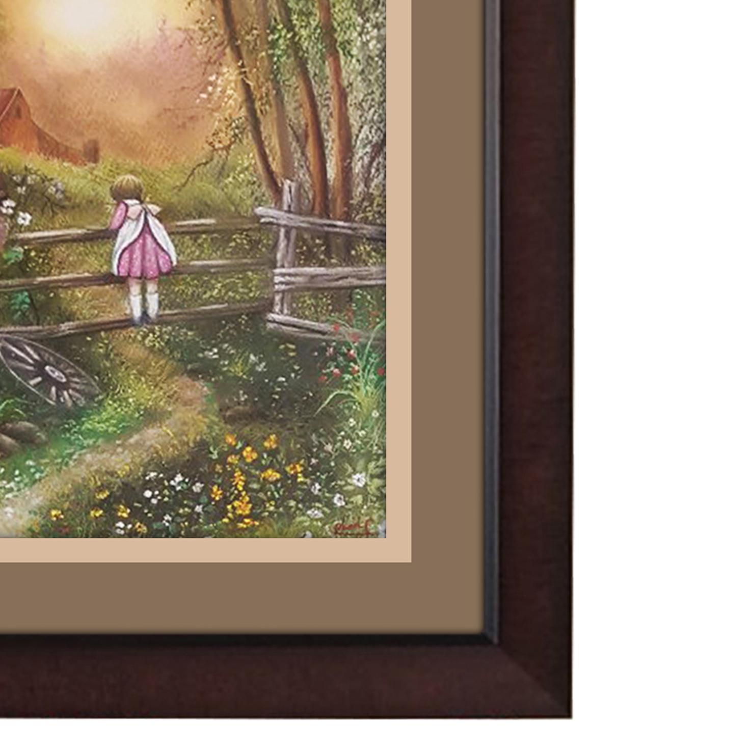 خرید                      تابلو نقاشی پاستل مدل خاطرات کودکی کد Ans-04