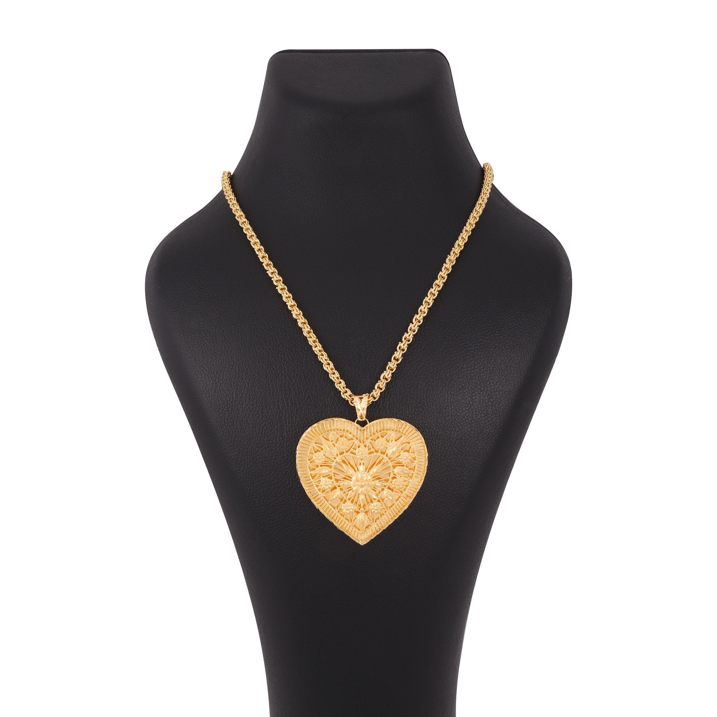 گردنبند طلا 18 عیار زنانه کد G697