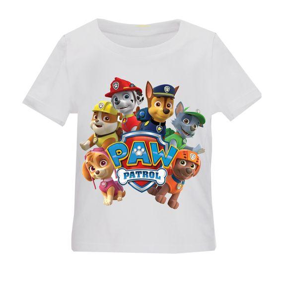تی شرت بچگانه طرح سگهای نگهبان کد TSb159